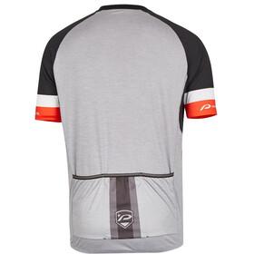 Protective Turin Koszulka z zamkiem błyskawicznym Mężczyźni, grey melange